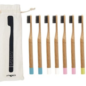 Cookut bambam brosse à dents en bois