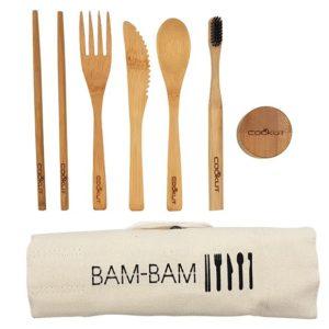 Cookut bambam kit pour manger en bois
