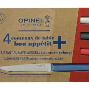 Opinel couteau bon appétit dentures velour