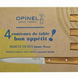 Opinel couteau n125 bon appétit manche en bois